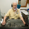 Globe/Roger Nomer<br /> Matthew Witt, senior announcer, works at KRPS on Thursday, April 7.