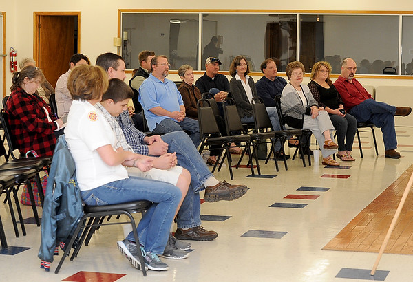 Friends and family attend a rally for MIA Capt. Thomas Wolfe on April 2 at Monett's Thomas Wolfe VFW. Wolfe was shot down during the Vietnam War and friends and family are lobbying the government to increase its efforts to find his body.<br /> Courtesy photo
