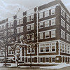 A vintage photograph shows the Downtowmn YMCA as it looked when it moved from Fourth St.<br /> Courtesy photo
