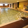 Members enjoy the heated pool in the basement of the Downtown YMCA on Tuesday.<br /> Globe | Laurie Sisk