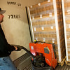 Globe/Roger Nomer<br /> Trey Sage, cooler manager, loads eggs on Monday at Opal Foods in Neosho.