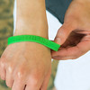 Globe/Roger Nomer<br /> Margie Comer wears a bracelet that reminds her of her sister Amanda Wilson.
