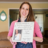 Globe/Roger Nomer<br /> Margie Comer holds a photo of her sister Amanda Wilson, who donated her organs after her death in 2014.