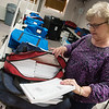 Globe/Roger Nomer<br /> Newton County Clerk Kay Baum works with ballots from last week's election on Wednesday at the Newton County Courthouse.