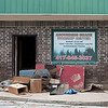 Damaged items lay outside the Abounding Grace Worship Center as flooding clean up continues on Sunday near downtown Anderson.<br /> Globe | Laurie Sisk
