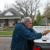 Globe/Roger Nomer<br /> Bob Guarino, Senior Corp volunteer, delivers meals to seniors on Tuesday in Joplin.