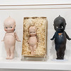 On display at the Springfield Art Museum are Kewpie dolls based on a design by Rose O'Neill.<br /> Globe | Roger Nomer