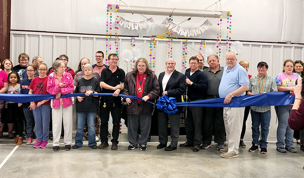 On Tuesday, the Community Support Services of Missouri celebrated its 40th birthday party with a ribbon cutting and party at <br /> the Carl McConnell Activity Center in Joplin. The agency has been making opportunities happen since 1978 for individuals with developmental disabilities. <br /> Contributed Photo