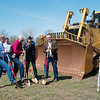 Ground is broken for the new Atwoods Ranch and Home store on East Road in Webb City on Thursday morning. The 100,000-square-foot retail site is located on land cleaned by the EPA.<br /> Globe | Roger Nomer