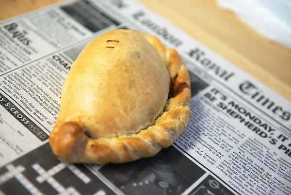 Pasty from London Calling<br /> Globe | Roger Nomer