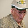 Glen Freeman talks about an arrest in the killing of his son Danny following a press conference on Monday in Vinita.<br /> Globe | Roger Nomer