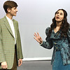 "From the left: Benjamin Belnap perfects his role as Cornelius Hackl as bella Sotlar portrays Irene Molloy during rehearsal for the Joplin High School production of  ""Hello Dolly!"" on Wednesday at JHS.<br /> Globe 