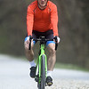 Cyclist Craig Chandler enjoys a ride on the Frisco-Greenway Trail near Zora Avenue on Tuesday afternoon.<br /> Globe | Laurie Sisk