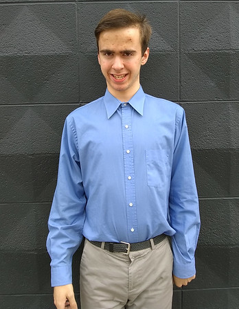 Jackson Marlett, 16, of Carl Junction, was selected for the Congress of Future Medical Leaders Conference in Boston, Mass. Marlett was diagnosed with high-functioning autism at age three, but the diagnosis hasn't impacted his dream of being a doctor.<br /> Globe | KIm Barker