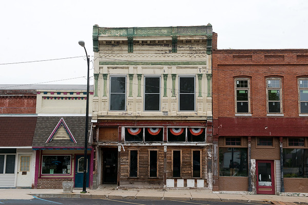 The Cutbirth Building on the Sarcoxie square has been made into an event center.<br /> Globe | Roger Nomer
