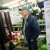 Roy Goding shops for wind chimes at Pearl Bros. True Value Hardware on Monday in Joplin.<br /> Globe | Roger Nomer