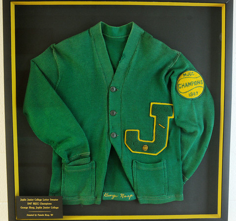 Globe/Roger Nomer<br /> Joplin Junior College Letter Sweater