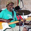 Globe/T. Rob Brown<br /> Bobby Dee, of Vinita, Okla., performs rhythm and blues with the band Dues Paid Saturday, Aug. 4, 2012, at the main pavillion during the Emancipation Celebration at Ewert Park.