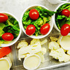 Globe/T. Rob Brown<br /> Grape tomatoes, lettuce, carrots and cauliflower are some of the healthier lunch alternatives at McKinley Elementary School cafeteria Wednesday morning, Aug. 29, 2012.