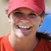 Globe/T. Rob Brown<br /> Erin Rakes, of Joplin, volunteer who helped build playground