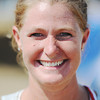 Globe/T. Rob Brown<br /> Mackenzie Robinson, of Joplin, volunteer in building playground