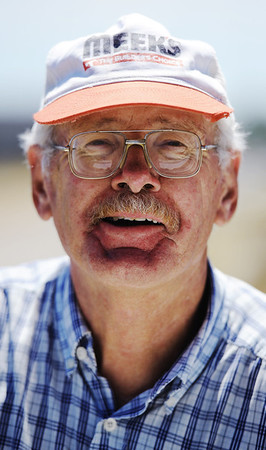 Globe/T. Rob Brown<br /> Notable: Charley Phillips, of Joplin, volunteer with Habitat for Humanity.