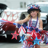 Globe/Roger Nomer<br /> Leah Jo Craddock, 5, Martin, Tenn., lines up for the JACC Young Professionals Network's Young Roadie Parade at the Route 66 International Festival on Saturday.  Craddock was in town to attend the festival in downtown Joplin.