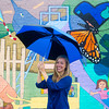 Globe/Roger Nomer<br /> Emily Frankoski said that one of the projects that inspired her interest in local arts was the community mural at 15th and Main.