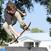 Joplin 13-year-old skateboarder Chris Myers takes to the air Friday evening, Aug. 30, 2013, at the Joplin Skate Park at Schifferedecker Park.<br /> Globe | T. Rob Brown