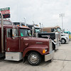 Globe/Roger Nomer<br /> Trucks from many different eras are on display on Friday at Joplin 44 Petro's annual Truckers Jamboree.
