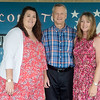 Globe/Roger Nomer<br /> Victoria Robertson, Bobby and Denise Stafford are a teaching family at East Newton High School.