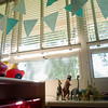 Globe/Roger Nomer<br /> A classroom awaits students for the first day of class at the Joplin Early Childhood Center. Many teachers are excited for the windows in their new classrooms, something they didn't have in their previous trailers.