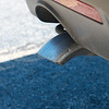 Globe/Roger Nomer<br /> This tailpipe on a Joplin Police Ford Explorer shows the alteration made for safety.