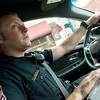 Globe/Roger Nomer<br /> Joplin Patrolman Brian Leeper, patrols in Joplin on Tuesday morning.