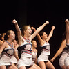 Globe/Roger Nomer<br /> Joplin High cheerleaders perform during Monday's rally at Joplin High School.