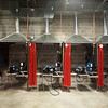 Globe/Roger Nomer<br /> Welding stations are set up at the Joplin Area Chamber of Commerce Advanced training and Technology Center.