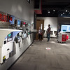 Visitors tour the new showroom space at Cardinal Detecto on Friday in Webb City.<br /> Globe | Roger Nomer