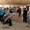 Searching for items such as produceand non-GMO meats and poultry, shoppers flock to the Webb City Farmers Market on Saturday.<br /> Globe | Laurie Sisk