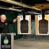 Travis Walthall, continuing education coordinator, talks about the new Missouri Southern firing range on Thursday.<br /> Globe | Roger Nomer