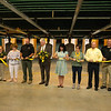 The ribbon is cut on the new Missouri Southern firing range on Thursday.<br /> Globe | Roger Nomer