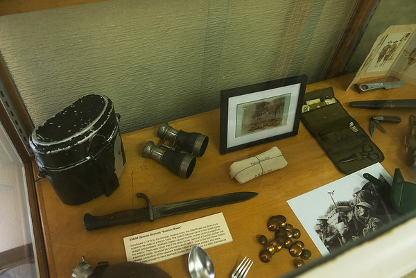 Items from World War I are on display at the Joplin History Museum.<br /> Globe | Roger Nomer