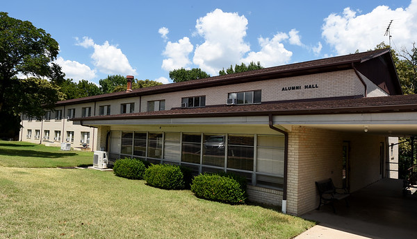 Alumni Hall sits among the other dormatories on the Ozark Christian College campus. Plans include renovations to the dorm as a model for renovations to the other dorms on the OCC campus.<br /> Globe   Laurie Sisk