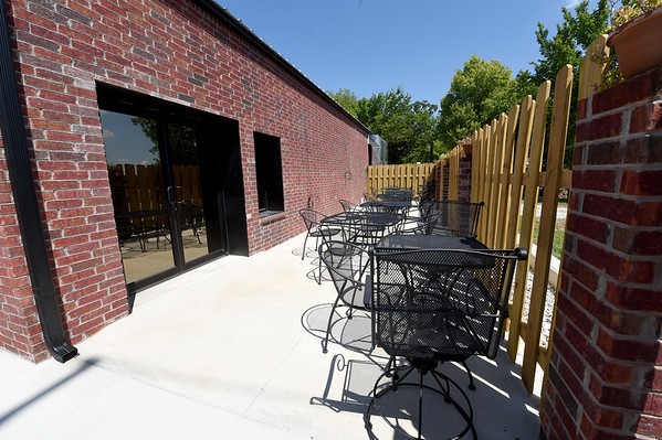 Cat Johnson's Taste of the South near St. Louis and Langston Hughes will feature outdoor dining.<br /> Globe | Laurie Sisk