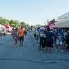 Residents visit booths at the Carl Junction Second Tuesday event.<br /> Globe | Roger Nomer
