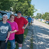 Sydney, Lisa and Kip Stiles live across the street from the Congregation of the Mother of the Redeemer and often host campers for Marian Days.<br /> Globe | Roger Nomer