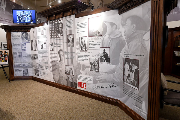"""A timeline at the Gordon Parks Museum chronicles the life of the renowned filmaker, author, photojournalist, composer and poet. His first major motion picture was """"The Learning Tree,"""" which illustrated his life as an African-American boy growing up in Fort Scott. Parks also served as LIFE magazine's first African-American photojournalist and even had a stint as a professional basketball player for the House of David basketball team and spent most of his career exposing the inequities in American society.<br /> Globe 