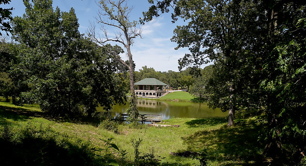 """Picturesque Gunn Park in Fort Scott was the site for some of the scenes in Gordon Parks first major motion picture, """"The Learning Tree."""" The Gordon Parks Museum at Fort Scott Community College will celebrate the 50th anniversary of the film's opening this year at the museum.<br /> Globe 