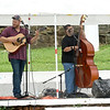 Members of the bluegrass band Spillwater Drive entertain the crowd at the 6th Annual Big Spring Bluegrass & BBQ on Saturday at Neosho's Big Spring Park. The event featured seven bands and a bounty of food vendors to enjoy.<br /> Globe | Laurie SIsk