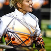 Webb City senior Anna Struble performs with her Southwind Drum and Bugle Corps during their tour this year. It is the second year Struble has toured with the corps, competing throughout the eastern half of the U.S. at venues such as Lucas Oil Stadium in Indianapolis for the Drum Corps International World Championships.<br /> Courtesy Photo