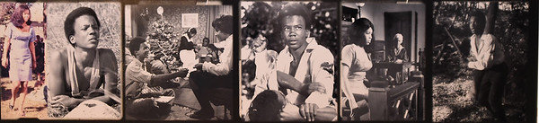 """Scenes from Gordon Parks' first major motion picture, """"The Learning Tree"""" hangs at the Gordon Parks Museum in Fort Scott. Parks not only directed the film, he also wrote the screenplay, served as producer and composed the score for the movie.<br /> Globe 